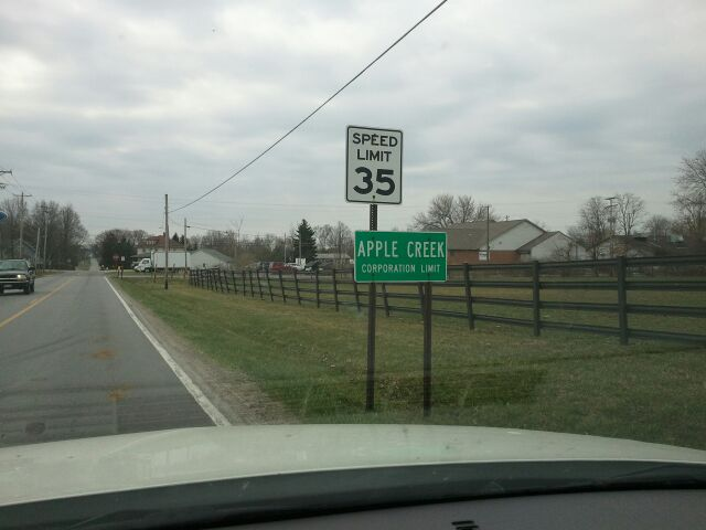 Apple Creek City Limits